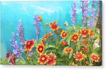 Late Summer Palette Canvas Print by Douglas MooreZart