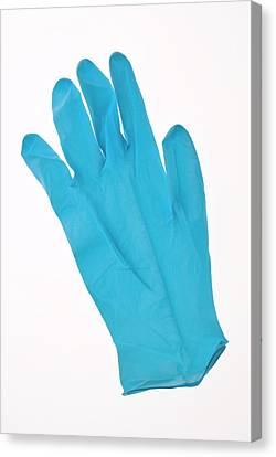 Latex Glove Canvas Print