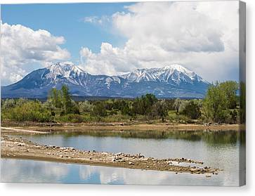 Lathrop State Park Canvas Print by Aaron Spong