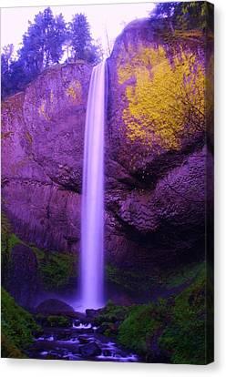Latourall Falls Canvas Print by Jeff Swan
