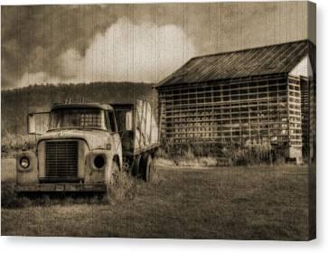 Latsha Lumber Company Canvas Print by Shelley Neff