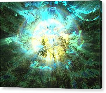 Latter Dream Canvas Print by Kellice Swaggerty