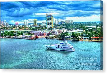 Lauderdale Canvas Print by Debbi Granruth