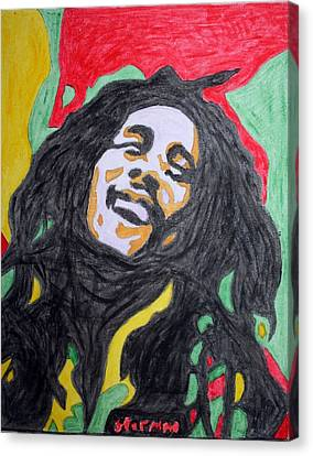 Happy Bob Marley  Canvas Print