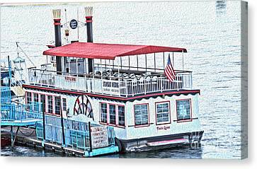 Laughlin Riverboat Canvas Print