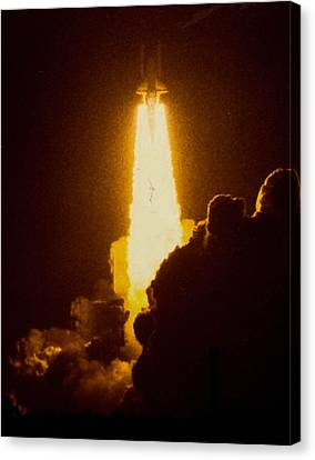 Launch Canvas Print