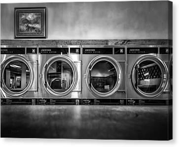 Laundromat Art Canvas Print by Bob Orsillo