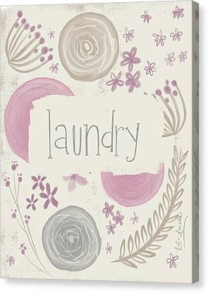 Laundry Canvas Print - Laundry II by Katie Doucette
