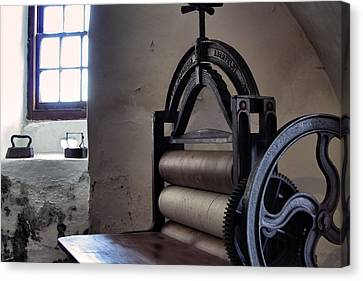 Laundry Press Canvas Print