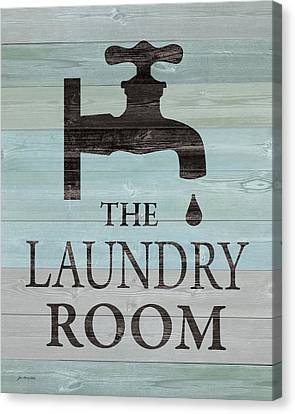 Laundry Canvas Print - Laundry Room by Jo Moulton