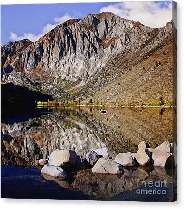 Posse Canvas Print - Laural Mountain Convict Lake California by Bob and Nadine Johnston