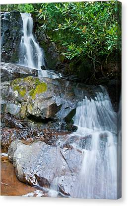 Laurel Falls Canvas Print by Melinda Fawver