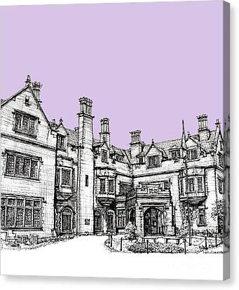 Laurel Hall In Lilac Canvas Print by Adendorff Design