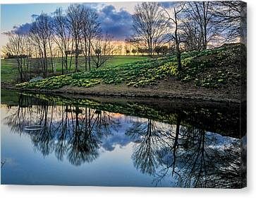Laurel Ridge Reflections Canvas Print