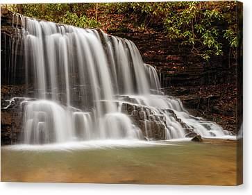 Laurel Run Falls Tn Canvas Print