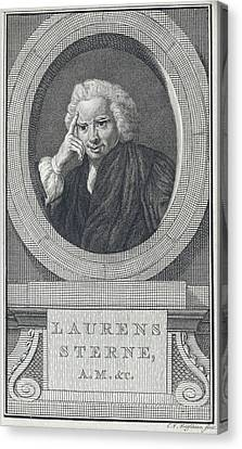 Laurence Sterne Canvas Print