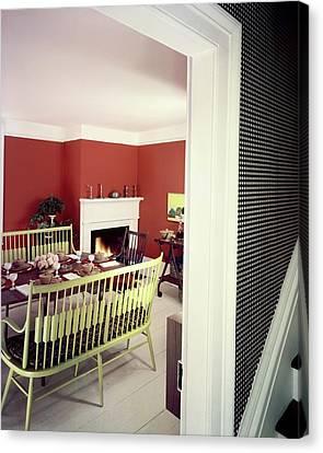 Laurens W. Macfarland's Dining Room Canvas Print by Tom Leonard