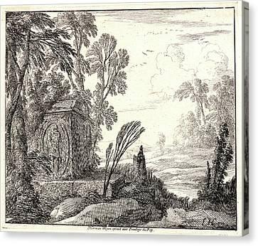 Laurent De La Hyre French Canvas Print