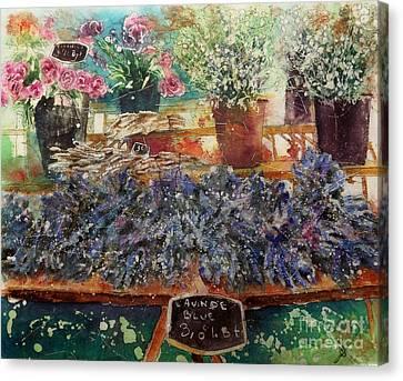 Lavendar For Sale Canvas Print