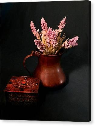 Lavender And Copper Canvas Print