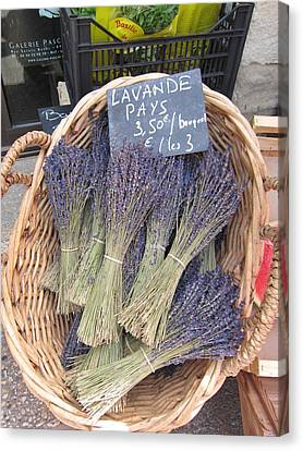 Lavender For Sale Canvas Print by Pema Hou