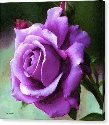Lavender Lady Canvas Print by RC deWinter
