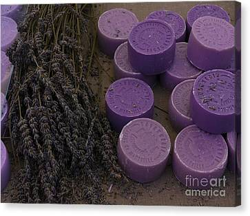 South Of France Canvas Print - Lavender Soap, France by Adam Sylvester