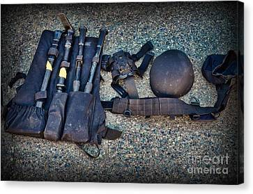 Law Enforcement -swat Gear - Entry Tools Canvas Print by Paul Ward