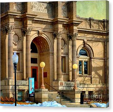 Lawrence City Library Canvas Print