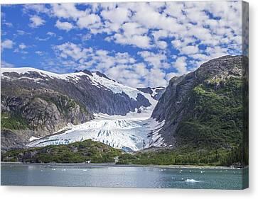 Lawrence Glacier Canvas Print by Saya Studios