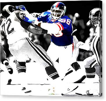 Lawrence Taylor Out Of My Way Canvas Print