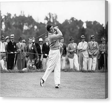 Lawson Canvas Print - Lawson Little Teeing Off by Rotofotos Inc