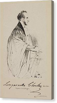 Lawyer In The Supreme Court At Calcutta Canvas Print