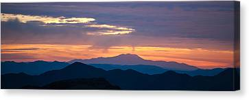 National Preserves Canvas Print - Layers - The Mojave II by Peter Tellone