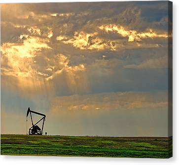 Layers Of Energy Canvas Print