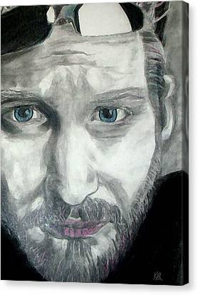 Layne Staley Canvas Print by Art by Kar