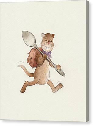 Lazy Cats06 Canvas Print