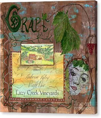 Lazy Creek Vineyards Canvas Print by Tamyra Crossley