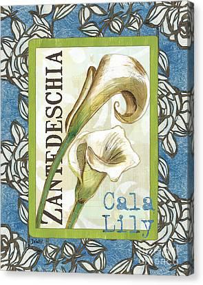 Lazy Daisy Lily 1 Canvas Print by Debbie DeWitt