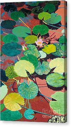 Lazy Summer Afternoon Canvas Print by Allan P Friedlander