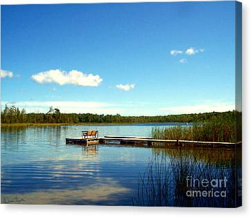 Lazy Summer Day Canvas Print by Desiree Paquette