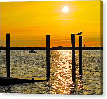 Lazy Summer Day Canvas Print by Frozen in Time Fine Art Photography