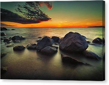 Lazy Sunset Canvas Print