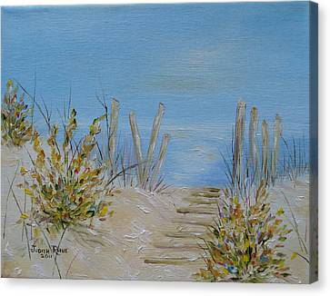 Lbi Peace Canvas Print by Judith Rhue