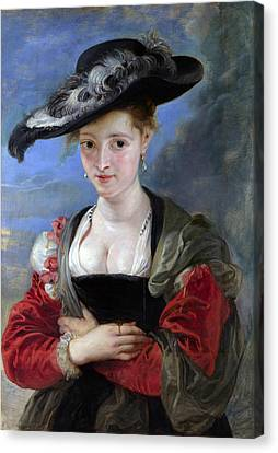 Le Chapeau De Paille Canvas Print