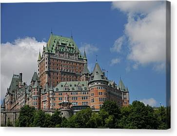 Le Chateau Frontenac  -- Quebec City Canvas Print