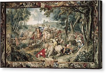 Le Clerc, J�r�me  17th C.. Ambush Canvas Print by Everett