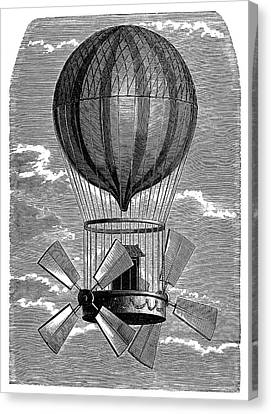 'le Comte D'artois' Balloon Canvas Print by Science Photo Library