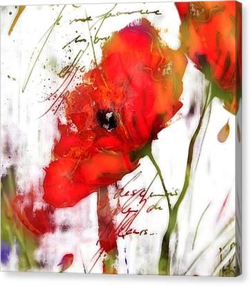 Le Coquelicot ... Canvas Print