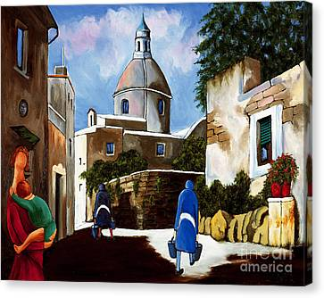 Le Dome Canvas Print by William Cain